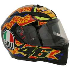 AGV K-3 SV Mugello 2001 Helmet - Orange Black