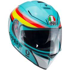 AGV K-3 SV Mir 2017 Helmet - Blue Orange Yellow