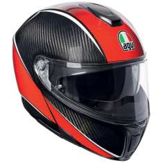 AGV Sports Modular Aero Helmet - Carbon Red