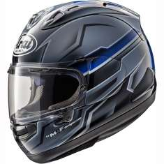 Arai RX-7V Scope Helmet - Grey Black Blue