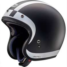 Arai Freeway Classic Halo Helmet - Black White
