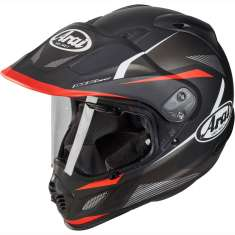 Arai Tour-X 4 Break Helmet - Black Red White