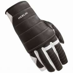 Merlin Boulder Gloves - Black White