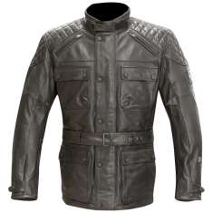 Merlin Hatton Leather Jacket WP - Black
