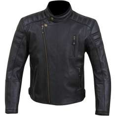 Merlin Lichfield Leather Jacket - Black