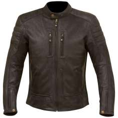 Merlin Draycott Leather Jacket - Black