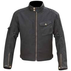 Merlin Hamstall Outlast Wax Jacket WP - Black