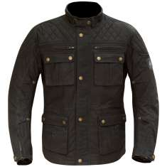 Merlin Yoxall Wax Jacket WP - Black