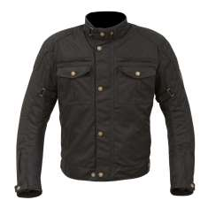 Merlin Barton Wax Jacket WP - Black