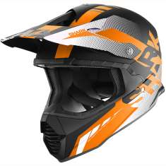Shark Varial Anger Helmet KOW - Black Orange White