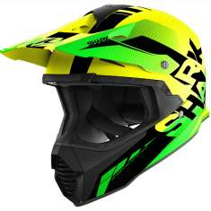 Shark Varial Anger Helmet YKG - Yellow Green Black