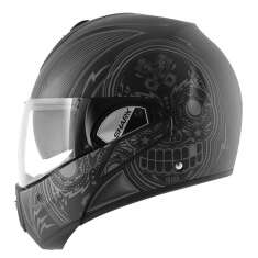 Shark Evoline Helmet Mezcal Mat KAS - Matt Black Grey