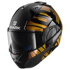 Shark Evo-One 2 Lithion Dual KUQ Helmet - Black Brown