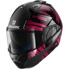 Shark Evo-One 2 Lithion Dual KUV Helmet - Black Pink