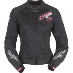 Furygan Pantha Lady Vented Jacket Air - Black Pink