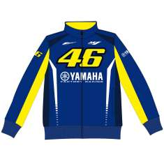 VR46 Yamaha Fleece - Blue Yellow