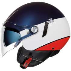 Nexx SX60 Smart 2 Helmet - Blue White Red
