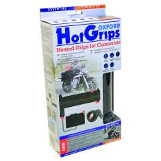 Oxford HotGrips Essential Commuter Heated Grips - Black