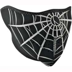 Zan Headgear Face Mask - Spider Web