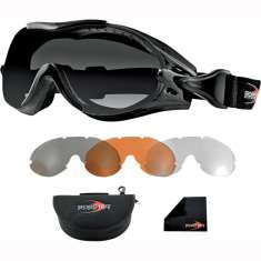 Bobster Over The Glasses Phoenix Goggles - Interchangeable