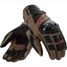 Rev It! Dominator Gloves GTX - Black Brown