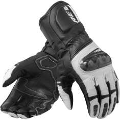 Rev It! RSR 3 Gloves - Black White