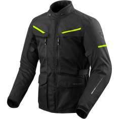 Rev It! Safari 3 Jacket WP - Black Yellow