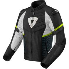 Rev It! Arc Jacket Mens WP - Black Yellow