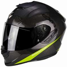 Scorpion Exo-1400 Air Carbon Pure Helmet - Grey Yellow