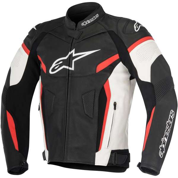 Alpinestars Leather Jacket >> Alpinestars Gp Plus R Leather Jacket V2 Black White Red