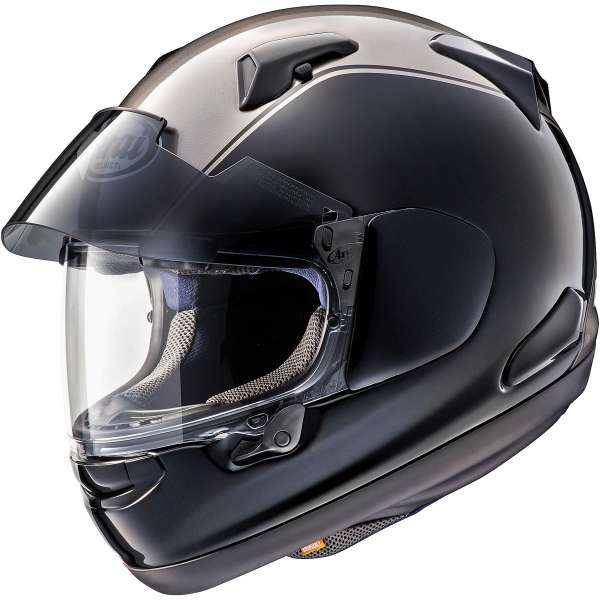 188a21cb Arai QV Pro Honda Gold Wing Helmet - Grey Black - GetGeared.co.uk